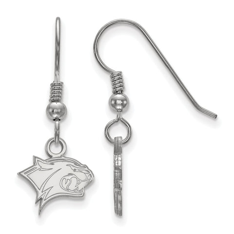 Sterling Silver LogoArt University of New Hampshire XS Dangle Earrings