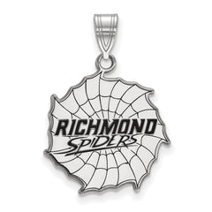 Sterling Silver LogoArt University of Richmond Large Enamel Pendant