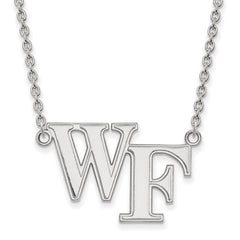 10kw LogoArt Wake Forest University Large Pendant w/Necklace