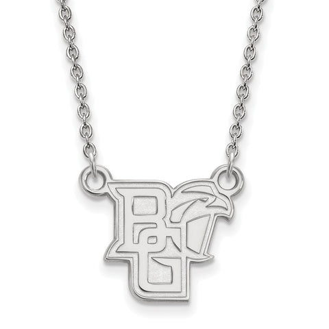 10kw LogoArt Bowling Green State University Small Pendant w/Necklace