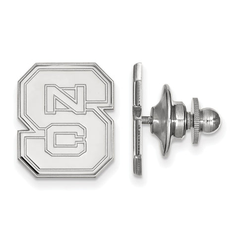 14kw LogoArt North Carolina State University Lapel Pin