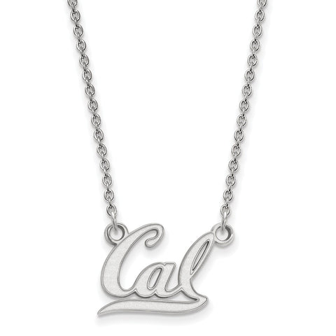 10kw LogoArt University of California Berkeley Small Pendant w/Necklace