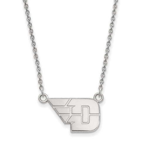 10kw LogoArt University of Dayton Small Pendant w/Necklace
