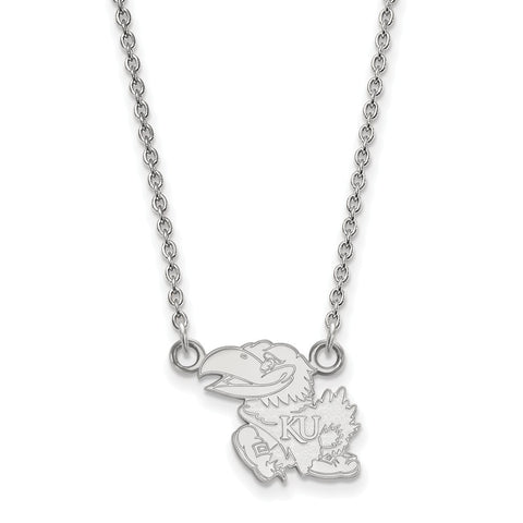 10kw LogoArt University of Kansas Small Pendant w/Necklace
