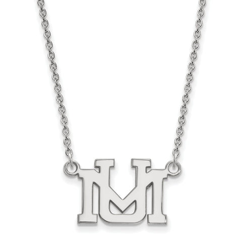 10kw LogoArt University of Montana Small Pendant w/Necklace