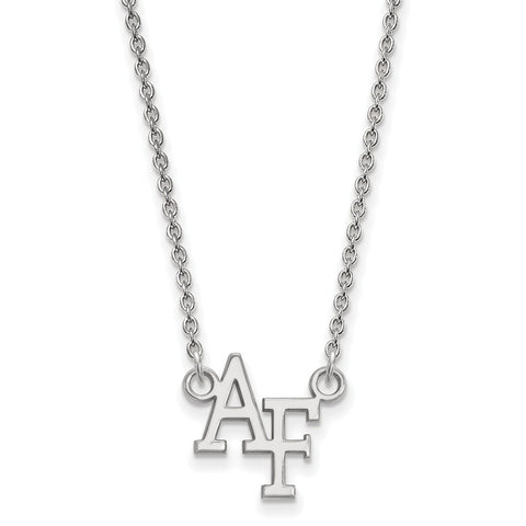 14kw LogoArt United States Air Force Academy Small Pendant w/Necklace