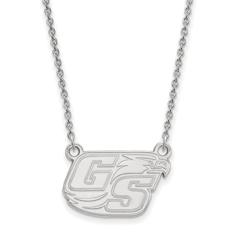 14kw LogoArt Georgia Southern University Small Pendant w/Necklace