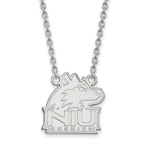 10kw LogoArt Northern Illinois University Medium Pendant w/Necklace