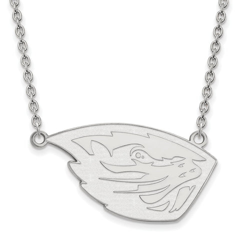 14kw Oregon State University Large Pendant w/ Necklace