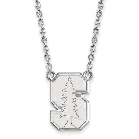 10kw LogoArt Stanford University Large Pendant w/Necklace