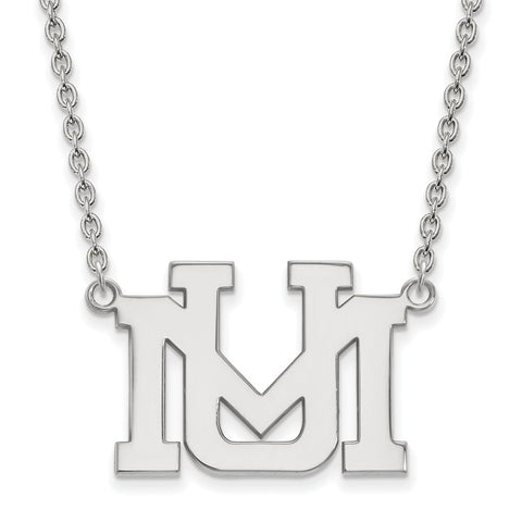 10kw LogoArt University of Montana Large Pendant w/Necklace