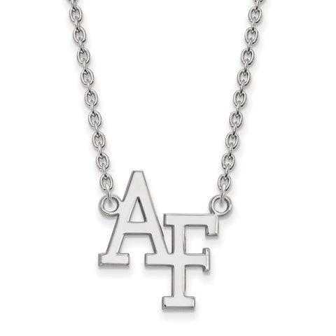 10kw LogoArt United States Air Force Academy Large Pendant w/Necklace