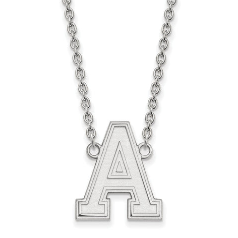14kw LogoArt U.S. Military Academy Large Pendant w/Necklace