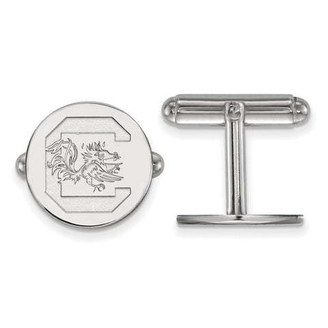 Sterling Silver LogoArt University of South Carolina Cuff Link