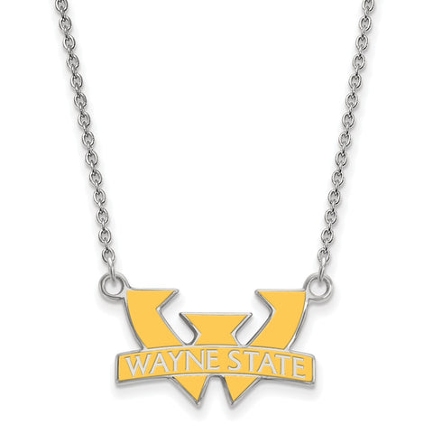 Wayne State University licensed Collegiate Necklace