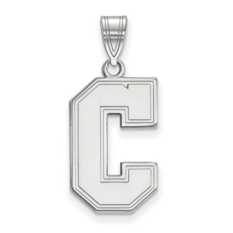 Sterling Silver LogoArt College of Charleston Large Pendant