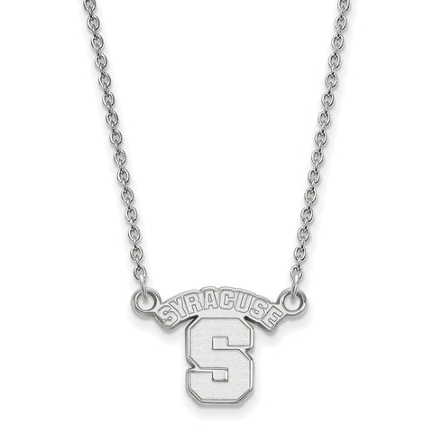 10kw LogoArt Syracuse University Small Pendant w/Necklace
