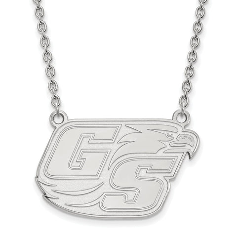 10kw LogoArt Georgia Southern University Large Pendant w/Necklace