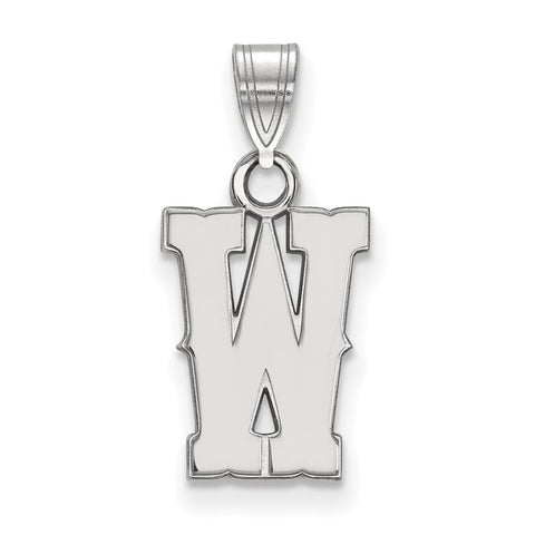 14kw LogoArt The University of Wyoming Small Pendant