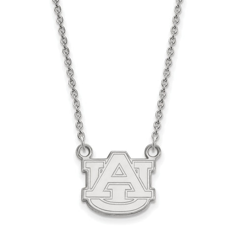 10kw LogoArt Auburn University Small Pendant w/Necklace