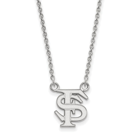 10kw LogoArt Florida State University Small Pendant w/Necklace