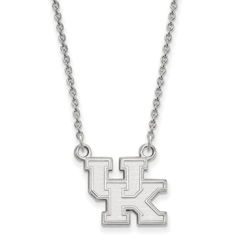 10kw LogoArt University of Kentucky Small Pendant w/Necklace