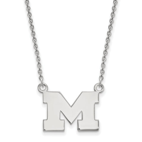 10kw LogoArt University of Michigan Small Pendant w/Necklace