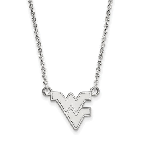 10kw LogoArt West Virginia University Small Pendant w/Necklace