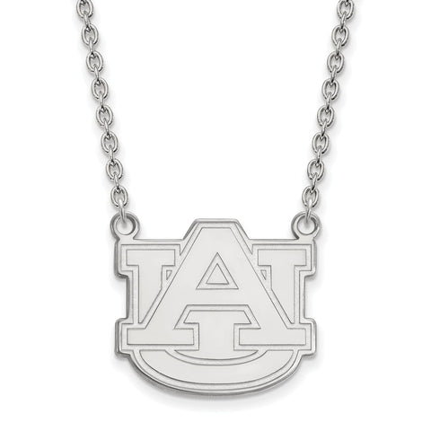 10kw LogoArt Auburn University Large Pendant w/Necklace