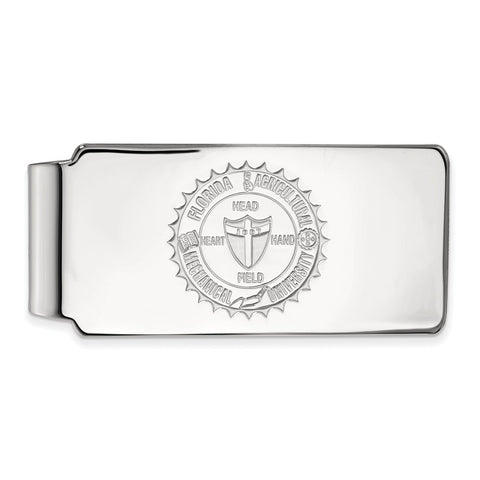 14kw LogoArt Florida A&M University Money Clip Crest