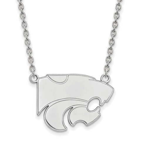 10kw LogoArt Kansas State University Large Pendant w/Necklace