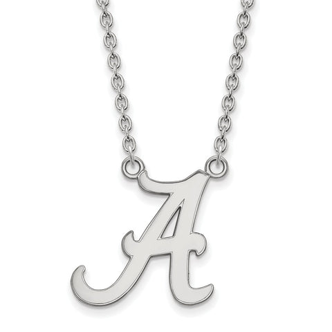10kw LogoArt University of Alabama Large Pendant w/Necklace