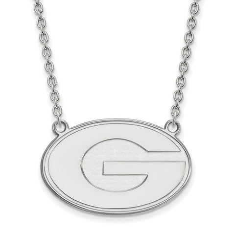 10kw LogoArt University of Georgia Large Pendant w/Necklace