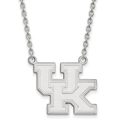 14kw LogoArt University of Kentucky Large Pendant w/Necklace