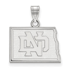 14kw LogoArt University of North Dakota Small Pendant