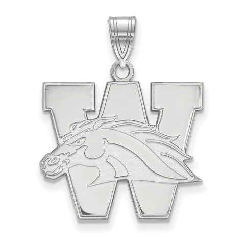 14kw LogoArt Western Michigan University Large Pendant