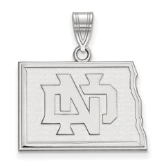 14kw LogoArt University of North Dakota Medium Pendant