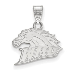 14kw LogoArt Western Michigan University Small Pendant