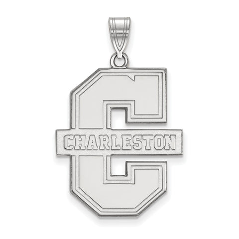 14kw LogoArt College of Charleston XL Pendant