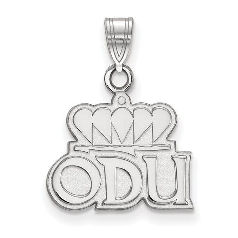 14kw LogoArt Old Dominion University Small Pendant
