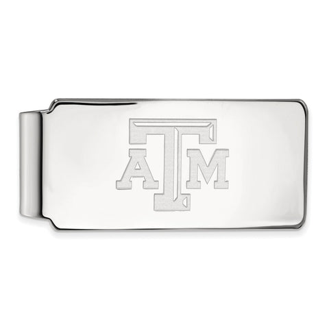 10kw LogoArt Texas A&M University Money Clip