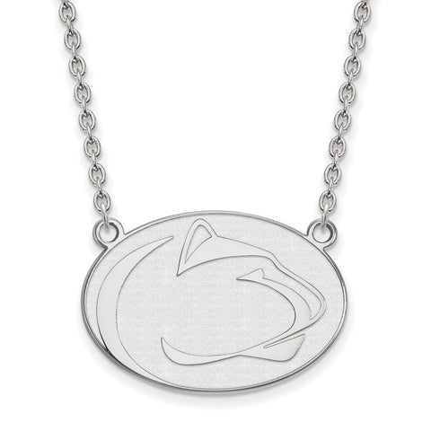 14kw LogoArt Penn State University Large Pendant w/Necklace