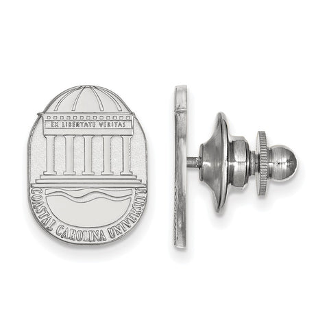 14kw LogoArt Coastal Carolina University Crest Lapel Pin