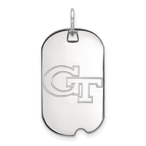 10kw LogoArt Georgia Institute of Technology Small Dog Tag