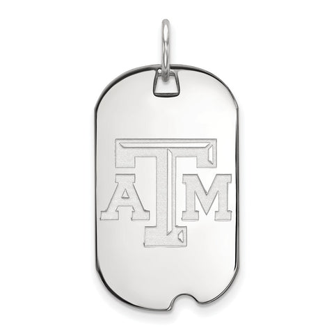 14kw LogoArt Texas A&M University Small Dog Tag