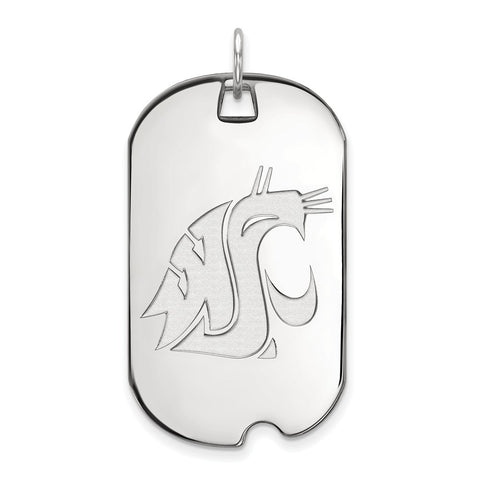 14kw LogoArt Washington State Large Dog Tag