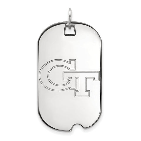 14kw LogoArt Georgia Institute of Technology Large Dog Tag