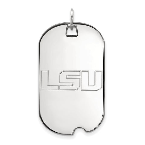 14kw LogoArt Louisiana State University Large Dog Tag