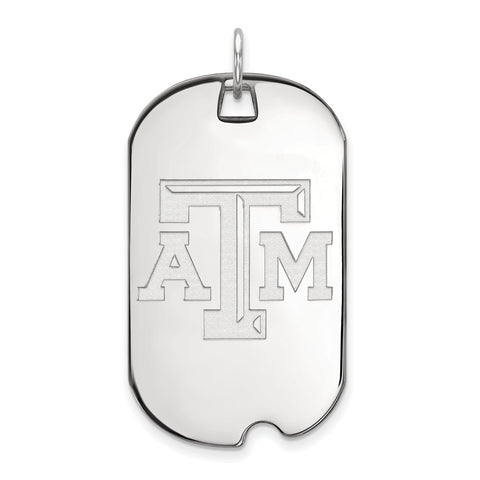 10kw LogoArt Texas A&M University Large Dog Tag