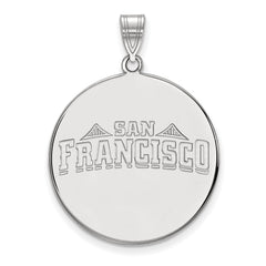 14kw LogoArt University of San Francisco XL Disc Pendant